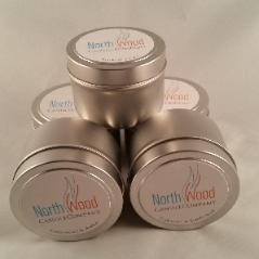 Private Label Coconut Wax Candle Tins
